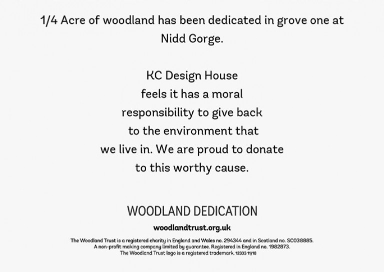 The Woodland Trust Certificate