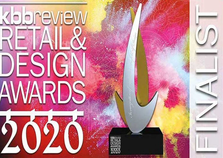 KC Design House Finalist for UK Kitchen Showroom of the Year 2020.